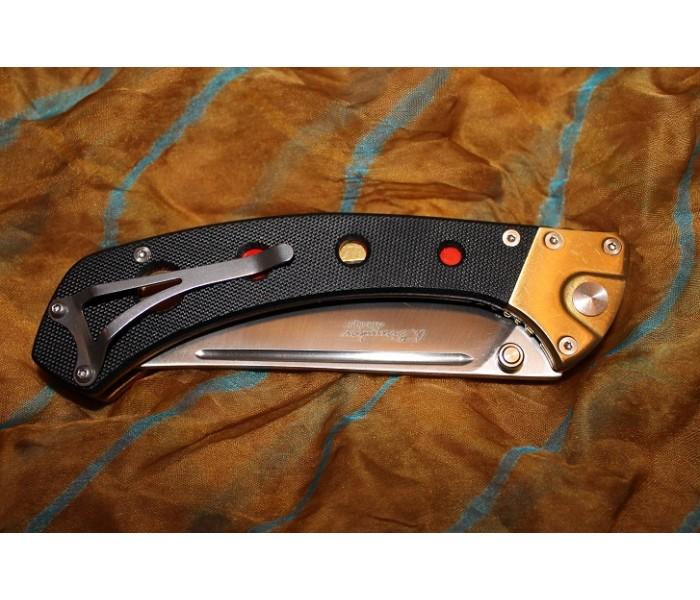 Нож K781 складной в восточном стиле